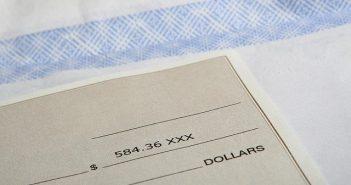 cheque sans provision encaissé