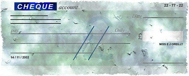 Un chèque sans provision encaissé.