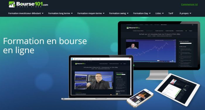 Formation Bourse 101